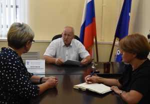 Константин Воронцов провел прием граждан по вопросам здравоохранения и образования