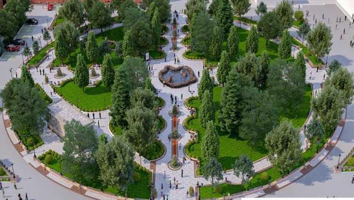 В Брянске на этой неделе строители начнут ремонт Круглого сквера
