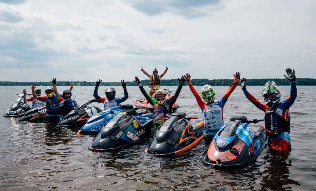 Брянец Роман Шатырин завоевал первое место на Кубке России по аквабайку