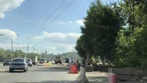 Строители начали финишный штурм на Первомайском мосту Брянска