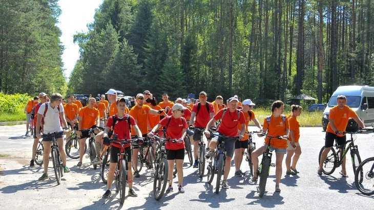 Для молодёжи БМЗ провели творческую велопрогулку