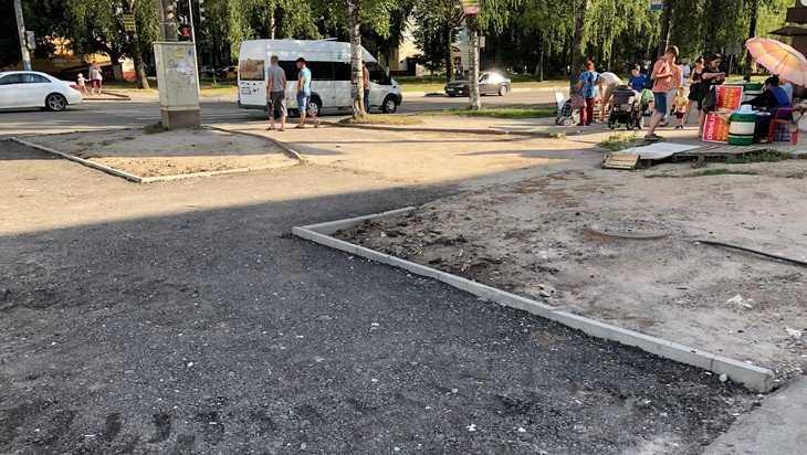 В Брянске приведут в порядок самую замызганную часть улицы Крахмалева