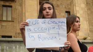 В сети  грузин высмеяли за нестройную русофобскую пляску