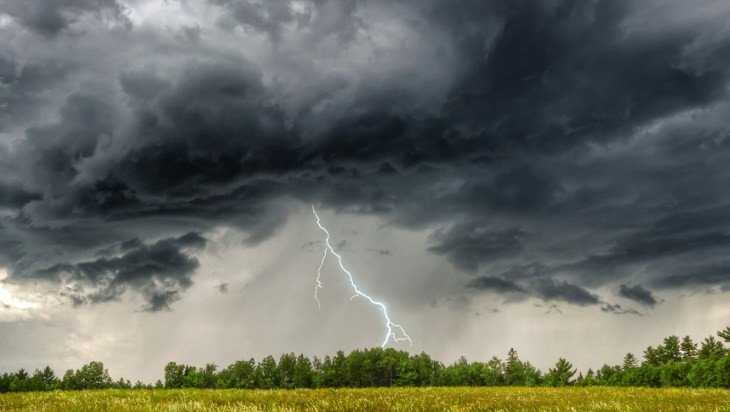 На Брянскую область надвигаются грозы с градом и шквалистый ветер