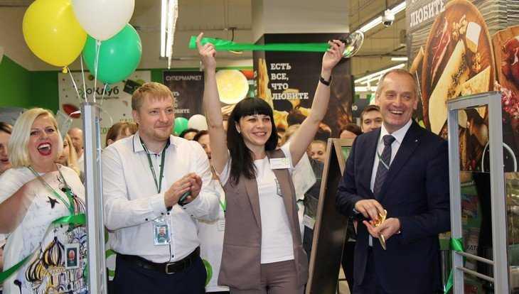 В Брянске распахнул двери первый супермаркет «Перекрёсток»