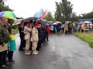 В селе Голубея захоронили останки 25 воинов, погибших в годы ВОВ