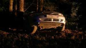 Под Суражом водительница «Субару» слетела в кювет и травмировалась