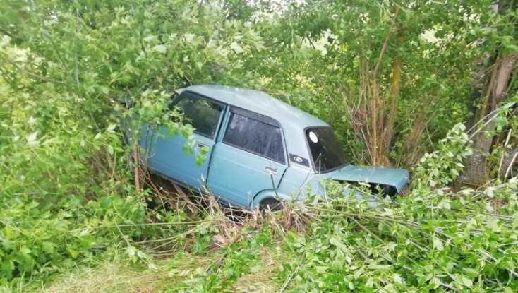 Под Дубровкой пьяный водитель ВАЗ врезался в дерево