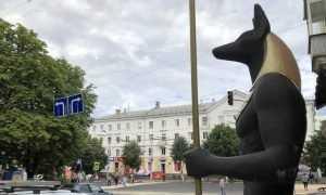 Улица в центре Брянска превратилась в нелепое смешение всего и вся