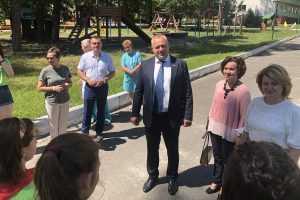 Валентин Суббот оценил качество детского отдыха в брянском санатории «Снежка»