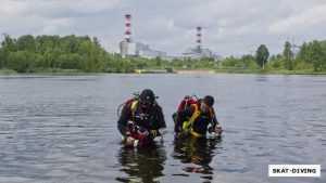 Брянские ныряльщики исследовали Десногорское водохранилище