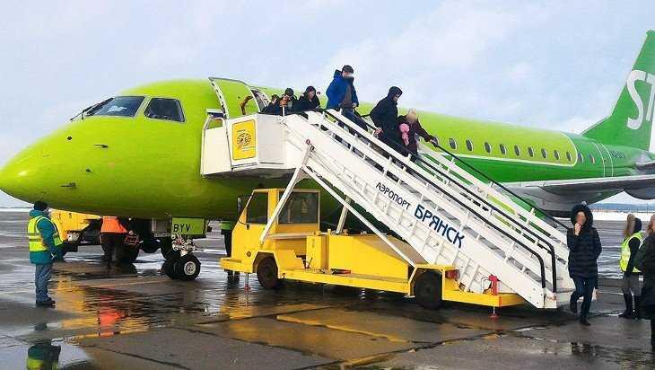 В Брянске билеты на самолет оказались одними из самых дешевых в России