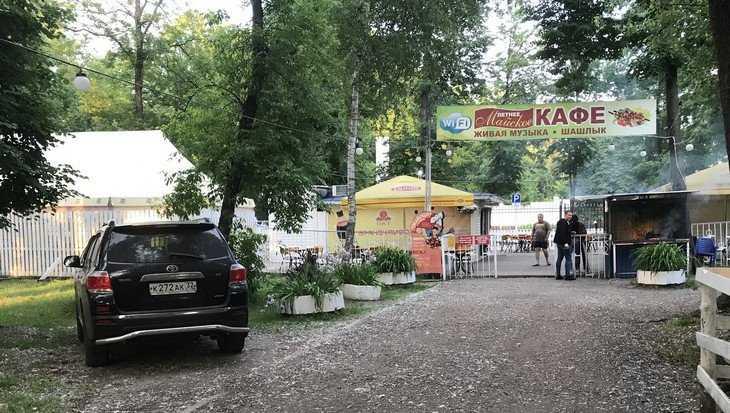 Брянский парк превратили в «пацанский тракт»