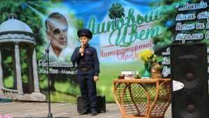 На празднике «Липовый цвет» брянцев встретил маленький Костя Паустовский