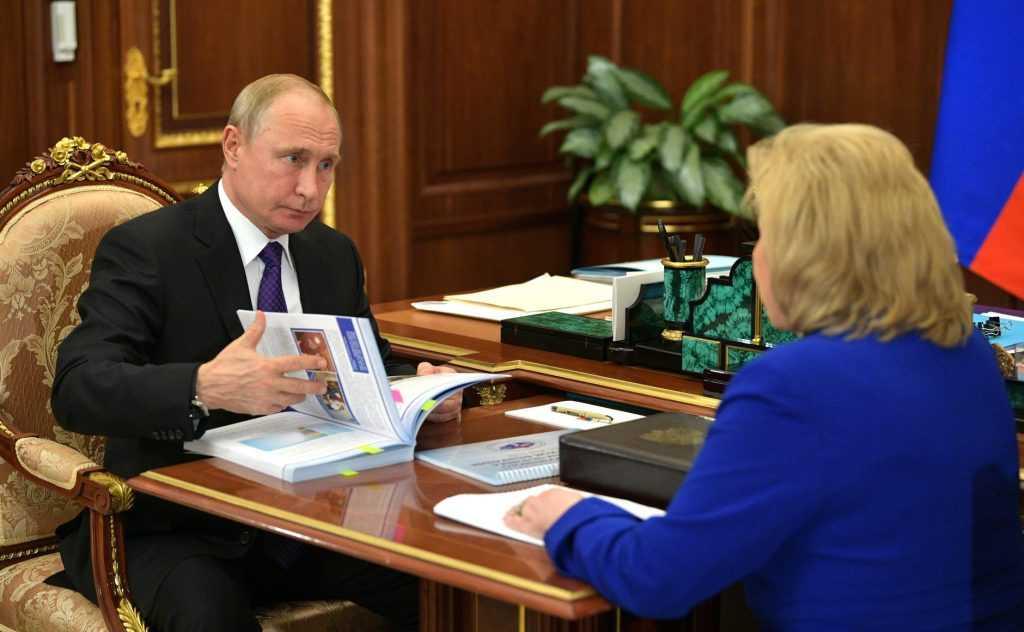 Стала известна реакция Путина на дело Голунова