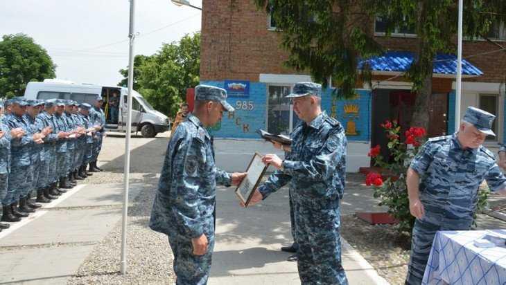 Брянских полицейских на Северном Кавказе посетил начальник УМВД