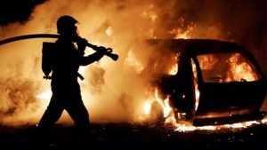 В Володарском районе Брянска в гараже сгорел Volkswagen