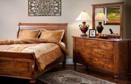 Чем характеризуется мебель из массива дерева
