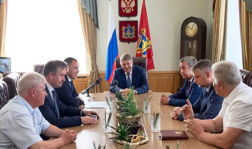 Начальник МЖД и губернатор Брянской области обсудили перспективы сотрудничества