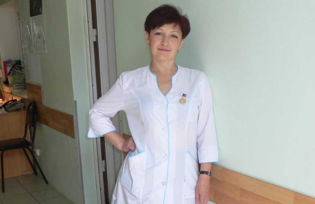 Брянский врач Людмила Черная стала Заслуженным врачом России