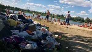 Брянские мыслители подрались в спорах об истоках свинства на пляже