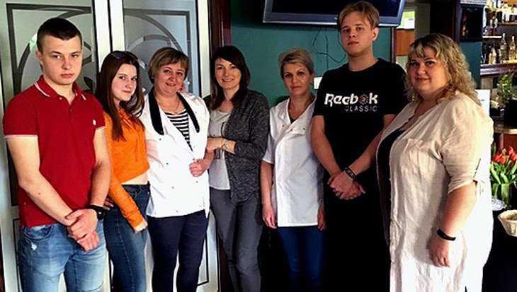 Брянские студенты-кулинары научились в Польше готовить местный журек