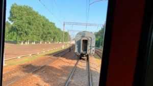 Телеканал «Москва 24» рассказал о происшествии с поездом в Брянске