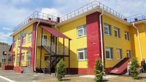 В Комаричском районе открыли новый детский сад на 75 мест