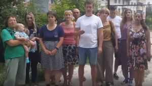 Отчаявшиеся брянские дольщики записали видеообращение к Путину