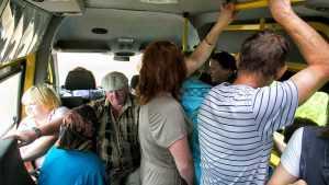 В брянской маршрутке пассажирка сломала ключицу