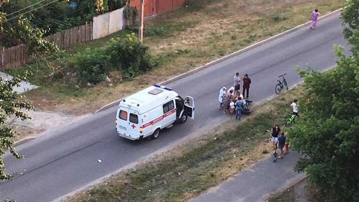 В Брянске водитель покалечился из-за прыгнувшей под мотоцикл собаки