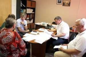 Депутат облдумы Василий Клюенков провёл приём граждан Навлинского района