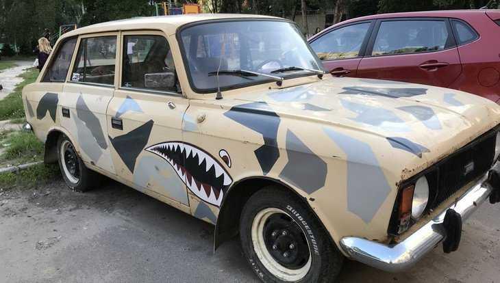 В Брянске выпишут штраф за рекламу пива на автомобиле