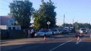 В Брянске водительница «Шевроле Нива» покалечила мотоциклиста