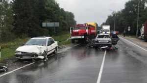 Под Жуковкой в ДТП с 5 автомобилями погиб 22-летний водитель