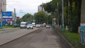 В Брянске начали ремонт четырех километров дороги на Бежицкой улице