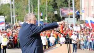 Жириновский будет жестоко биться за место депутата в Брянске