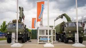 В российской армии высоко оценили военные краны из Клинцов