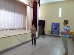 Валентина Миронова посетила учреждения культуры Дубровского района