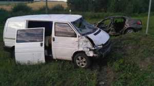 В аварии на трассе под Вщижом пострадали три человека