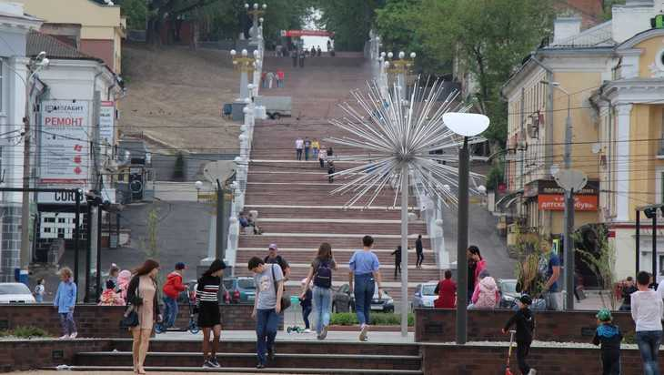 В Брянске покажут феерическое шоу на лестнице бульвара Гагарина