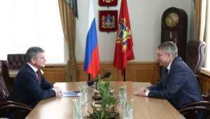 Брянский губернатор и глава «Россети Центр» обсудили цифровую трансформацию