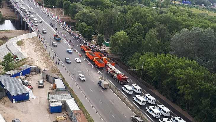 В Брянске открыли Первомайский мост