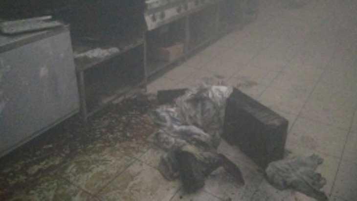 Ночью в Брянске загорелось кафе – вывели 25 гулявших посетителей