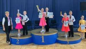 Юные танцоры из брянской «Фантазии» победили на соревнованиях в Сочи