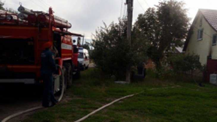В Клинцах при пожаре погибла 80-летняя женщина