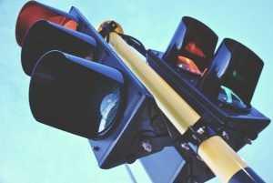 В России могут появиться квадратные светофоры и турбоперекрестки