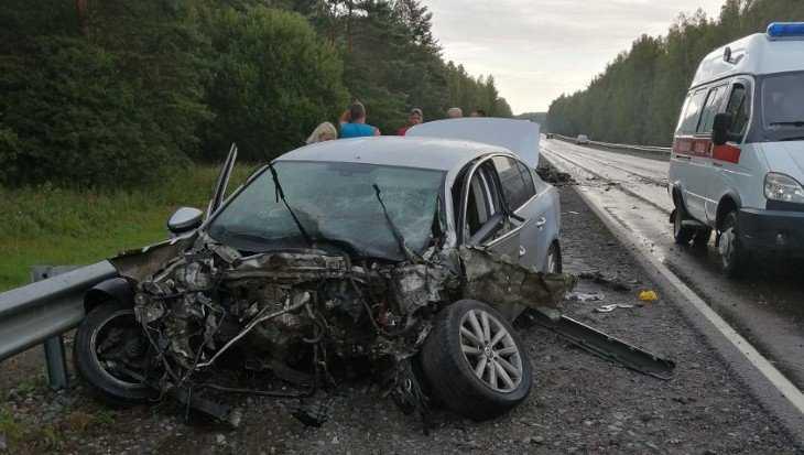 В страшной аварии на брянской дороге людей спасло немецкое «чудо»