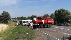 Попавший в жуткое ДТП под Унечей маршрутчик возил людей нелегально