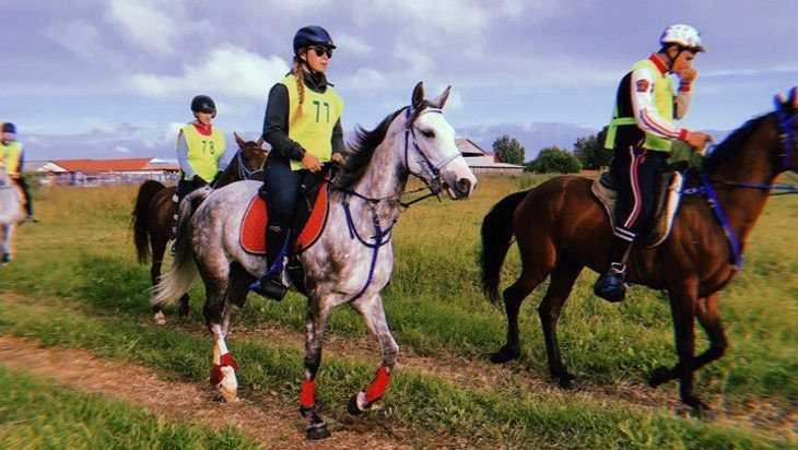 Брянская наездница стала чемпионкой страны в конном пробеге на 120 км